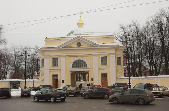 Надвратная церковь, Александро-Невская лавра
