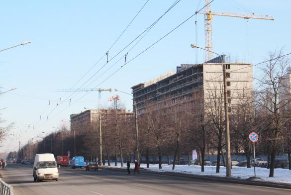 Межвузовское общежитие на Новоизмайловском проспекте, 16