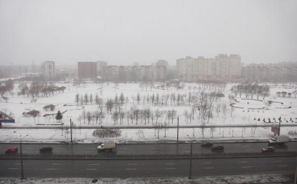 Парк «Малиновка» сверху