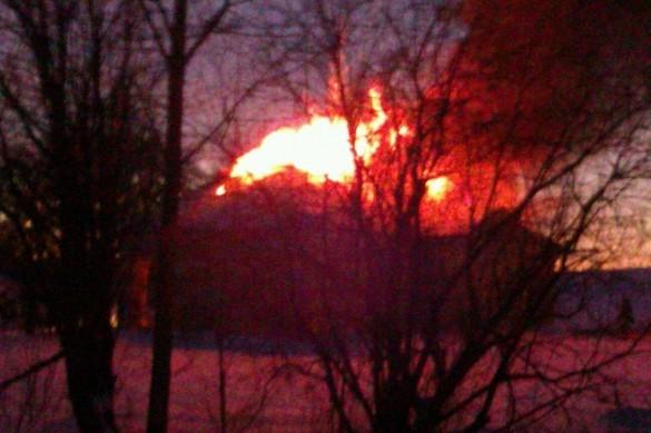 Пожар в Анненкроне