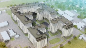 Концепция застройки жилого комплекса на Приморском проспекте, 52