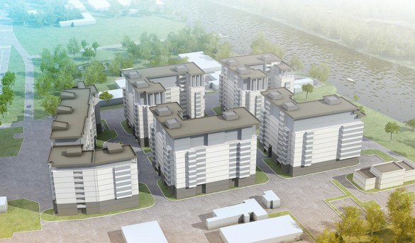 Проект жилого комплекса на Приморском проспекте, 52