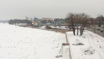 Строительство развязки от Обводного канала к Синопской набережной