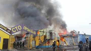 Пожар на Салова, 52