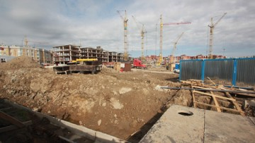 Строительство жилого комплекса «Самое сердце»
