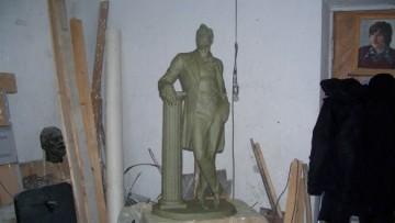 современный вариант памятника Шаляпину