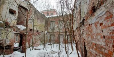 Стрельнинская улица, дом 13, руины