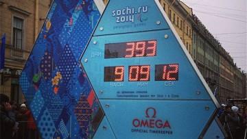 Часы, обратный отсчет до Олимпиады – 2014