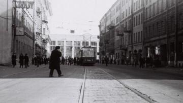 Трамвай в Финском переулке