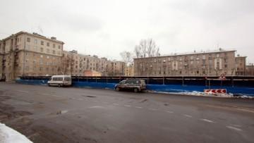 Улица Гастелло, 16, после сноса общежития