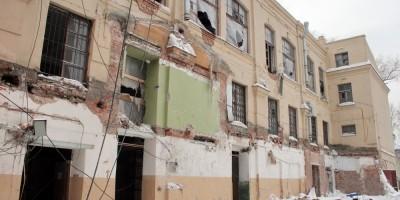 Улица Красного Текстильщика, 17, реконструкция, двор