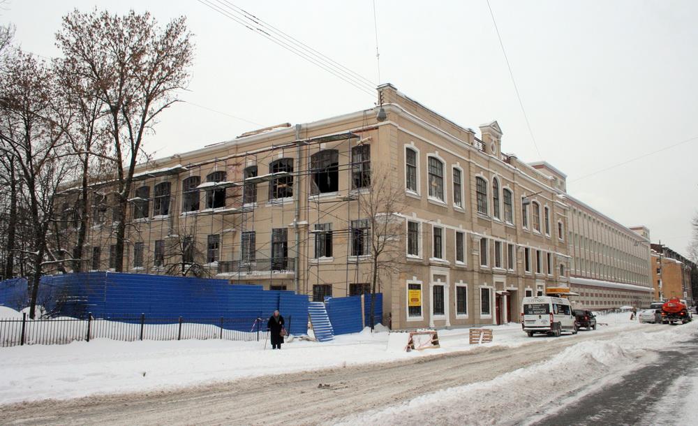 Улица Красного Текстильщика, 17, реконструкция