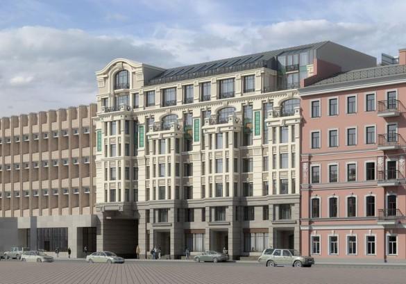 Проект нового здания на улице Куйбышева