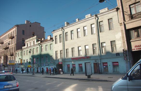 Лиговский, 33–35, дом Каплуна