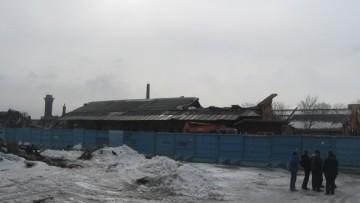 Пакгауз Варшавского вокзала после сноса