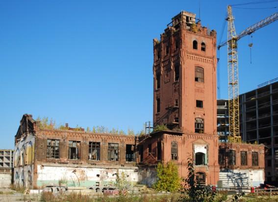 Башня завода «Вулкан»