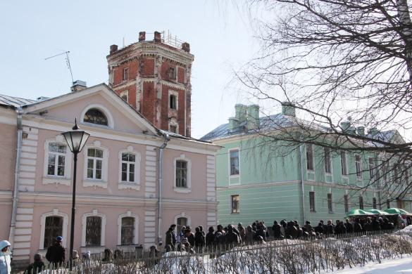 Певческая башня в городе Пушкине