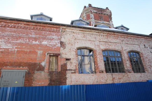 Певческая башня в Пушкине, реставрация здания