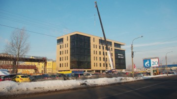Бизнес-центр на Магнитогорской улице