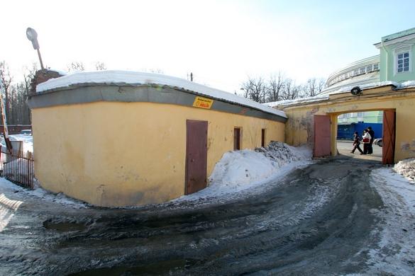 Дворцовые теплицы, Пушкин