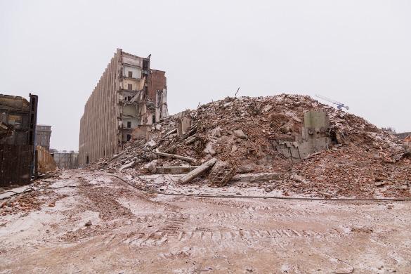 Снос здания «Электросилы» на Московском проспекте, метро Электросила