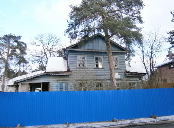 Коммунаров 74, деревянный дом
