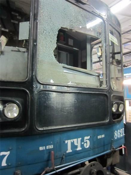 Поезд под который бросился пассажир, «Ладожская»