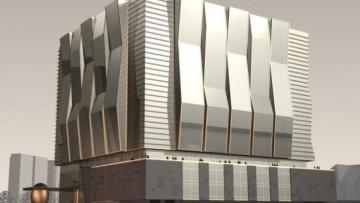 Проект бизнес-центра на Малоохтинском проспекте
