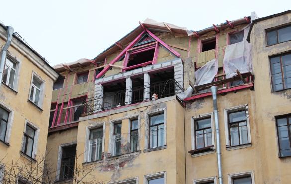 Строительство мансарды над домом Васильева