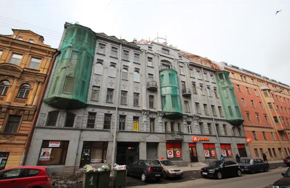 Дом Васильева на 12-й Красноармейской, 3, строительство мансарды