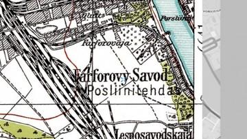 Фарфоровское кладбище на финской карте