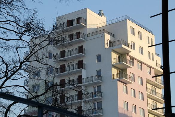 Охта-модерн, дом