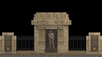 памятник кнорозову