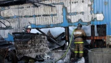 Пожар на Митрофаньевском шоссе, Московский район