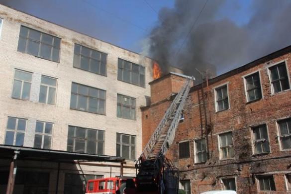 Пожар на Заставской
