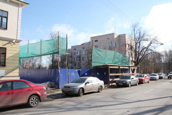 Снесенное здание Царскосельского дворцового правления