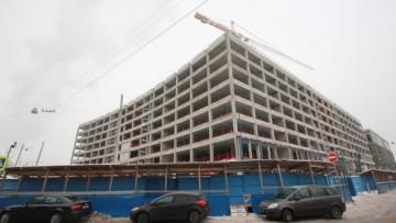 «Невская ратуша», строительство главного здания