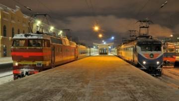 Поезд Петербург-Иматра