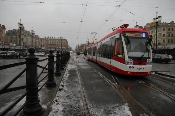 Трамвай, Сенная площадь