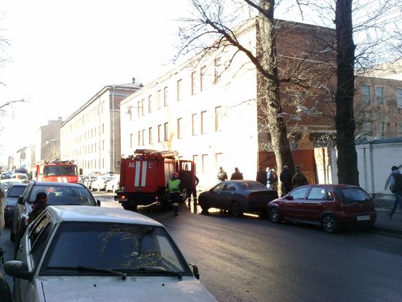 Пожар на Заставской улице, 15