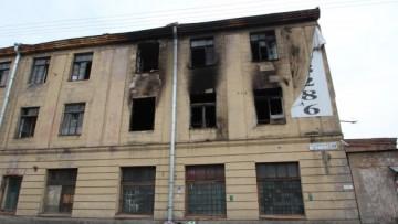 Балтийская, 59, после пожара