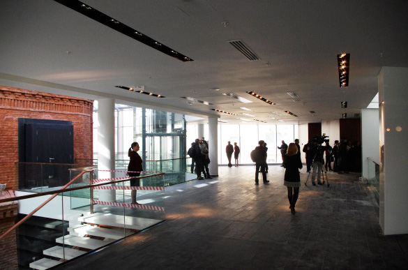 Интерьер здания второй сцены Александринки