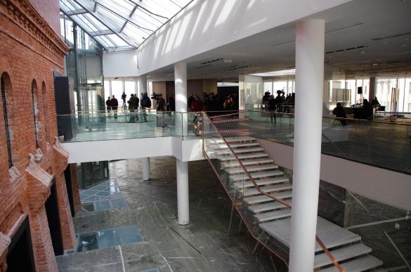 Интерьер здания малой сцены Александринки