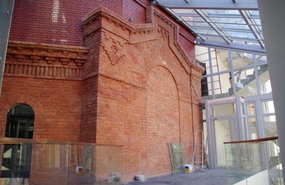 Малая сцена Александринки, старое здание в интерьере