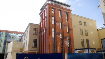 Новая сцена Александринского театра, двор
