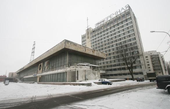 Речной вокзал с гостиницей «Речная»