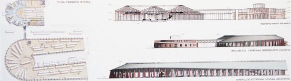 Проект железнодорожного музея на Балтийском вокзале