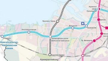 Калининско-Красносельской линия метрополитена