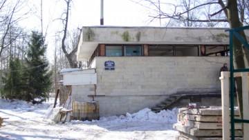 Советское здание на Каменном острове