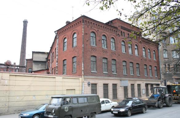 Производственный корпус мебельно-столярной фабрики Мельцера